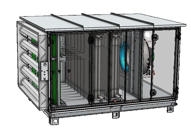 Fidji modulaire 3D