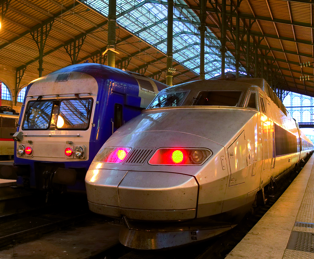 Trains, Gare du Nord --- Image by © Royalty-Free/Corbis